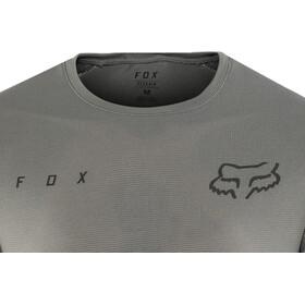 Fox Flexair Maillot Manga Corta Hombre, grey vintage